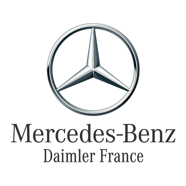 logo client carlab studios photo voiture mercedes daimler france