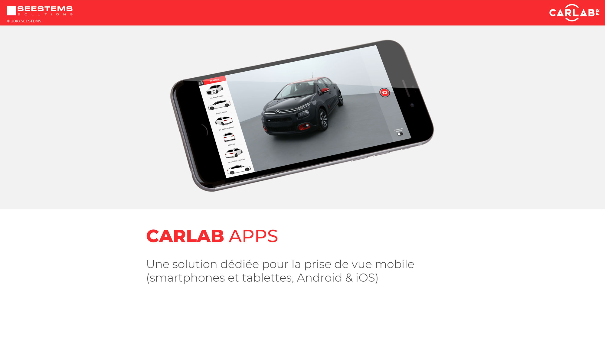 img capture mycarlab photo voiture mobile