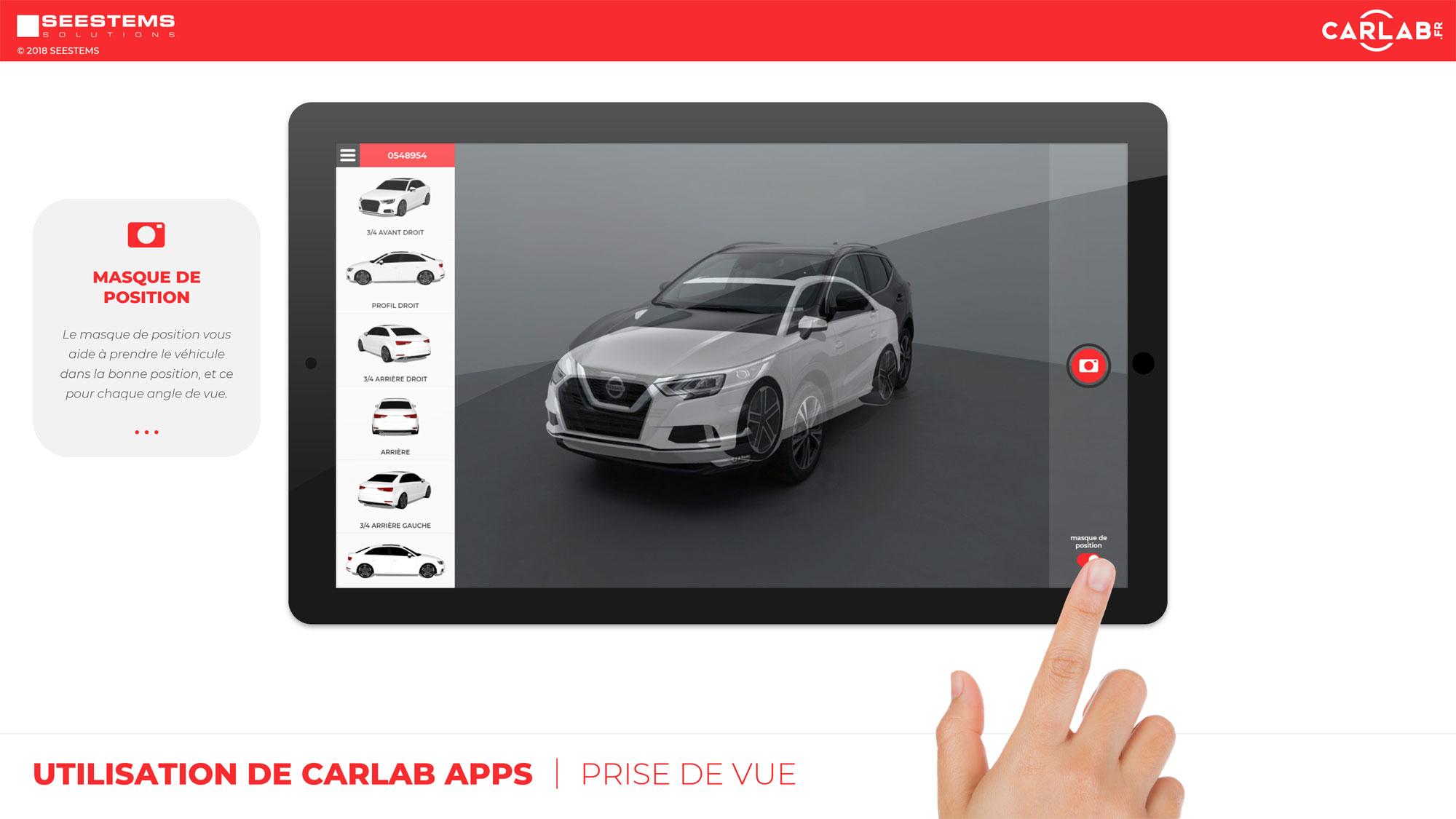 img capture mycarlab photo voiture mobile