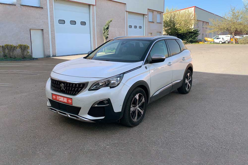 photo mycarlab app carlab mobile voiture peugeot 3008 avant