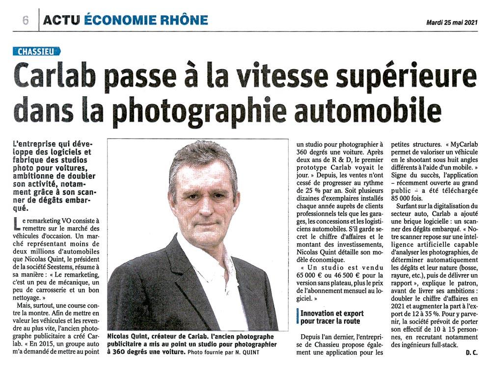 carlab actualites le progres leprogres article carlab vitesse superieure photographie automobile